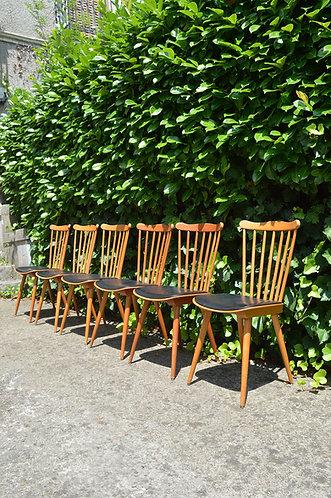 4 chaises Menuet de Baumann