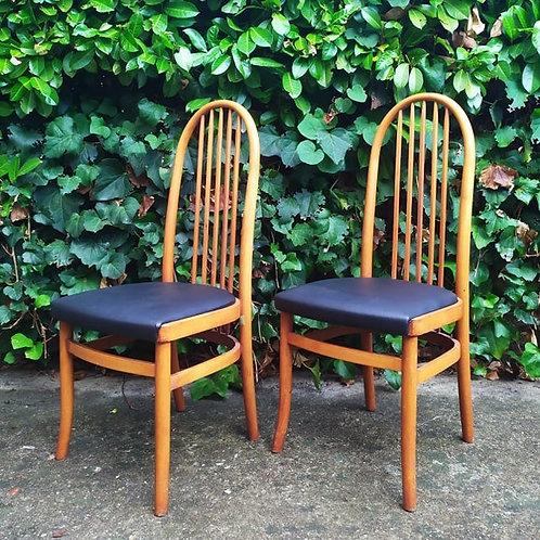 Paire de chaises Eden de Baumann