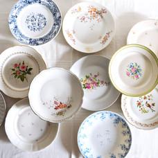 Vaisselle vintage - Assiettes plates