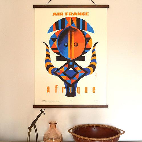 Affiche Air France Afrique