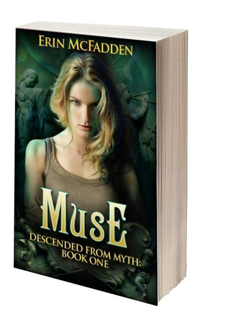 Signed Paperback- Muse (Descended from Myth: Book