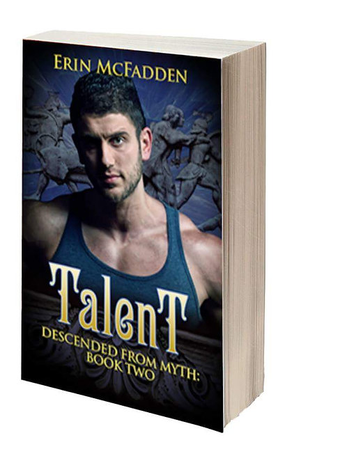 Paperback- Talent (Descended from Myth: Book Two)