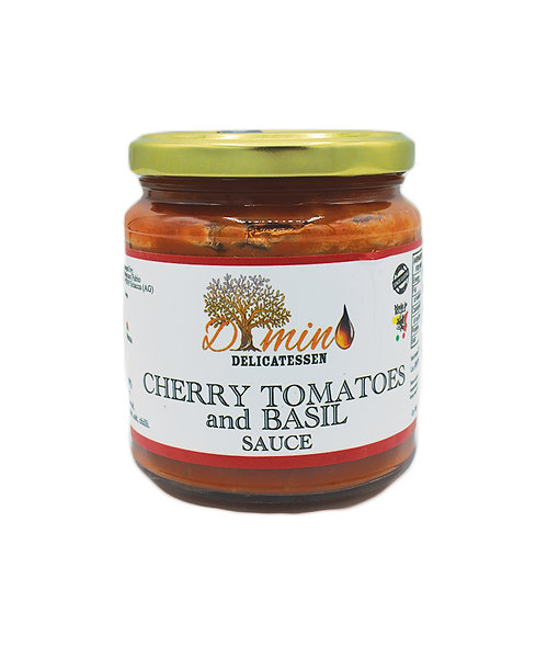 Cherry Tomatoes & Basil sauce - 300gr