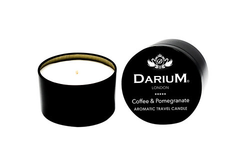 Coffee & Pomegranate - Travel Candle