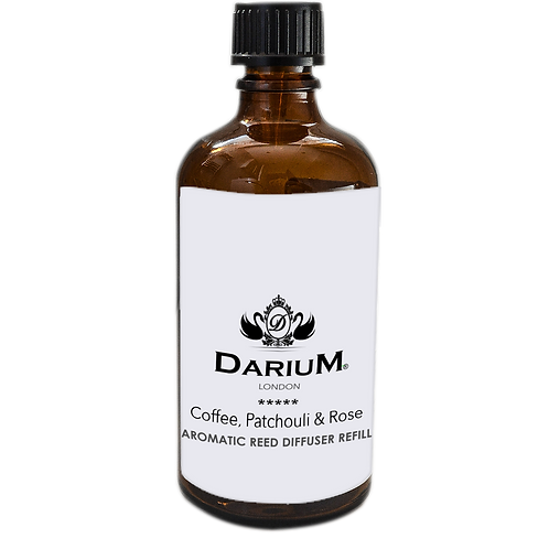 Coffee, Patchouli & Rose - Reed Diffuser Refill