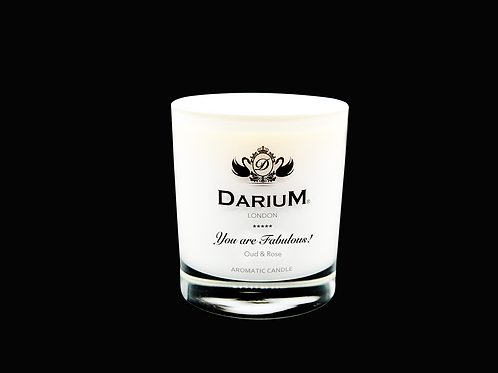 Oud & Rose - Aromatic Candle