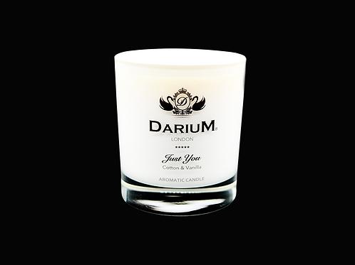 Cotton & Vanilla - Aromatic Candle