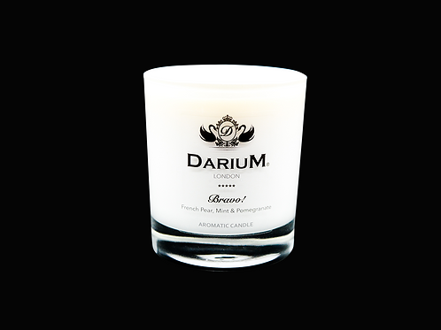French Pear, Mint & Pomegranate - Aromatic Candle