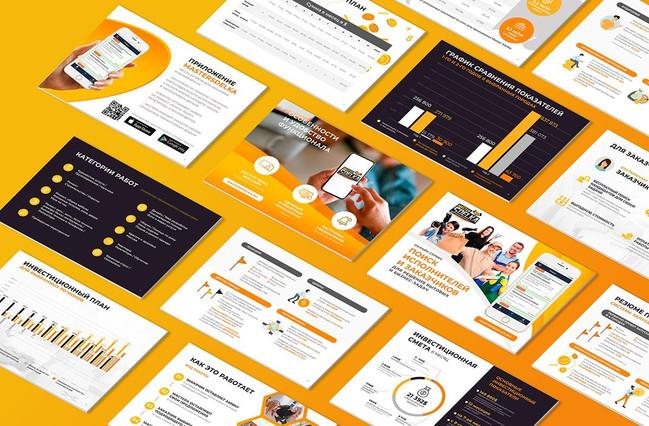 Corporate website design & Brandbook