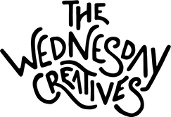 The Wednesday Creatives Logo single line