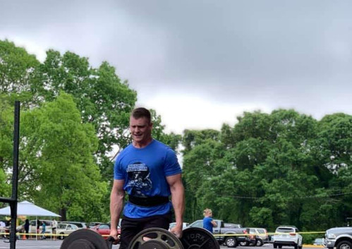Member Branson had third place victory at the Athens YMCA Strongman competition