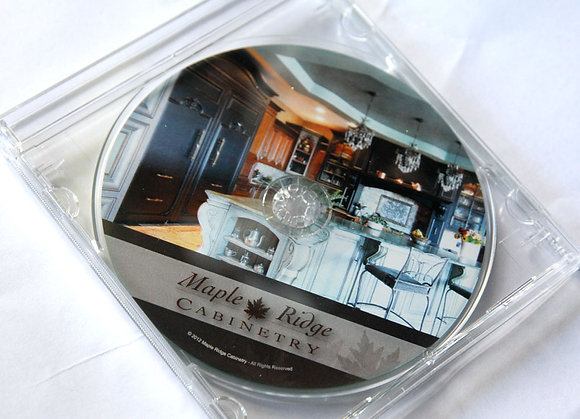 2013 Maple Ridge Cabinetry Portfolio on CD
