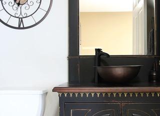 New Vanity using the Petersburg Door
