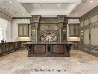 Virginia Mansion has large Hearth focal point