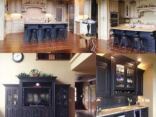 Custom Cabinetry in New Home