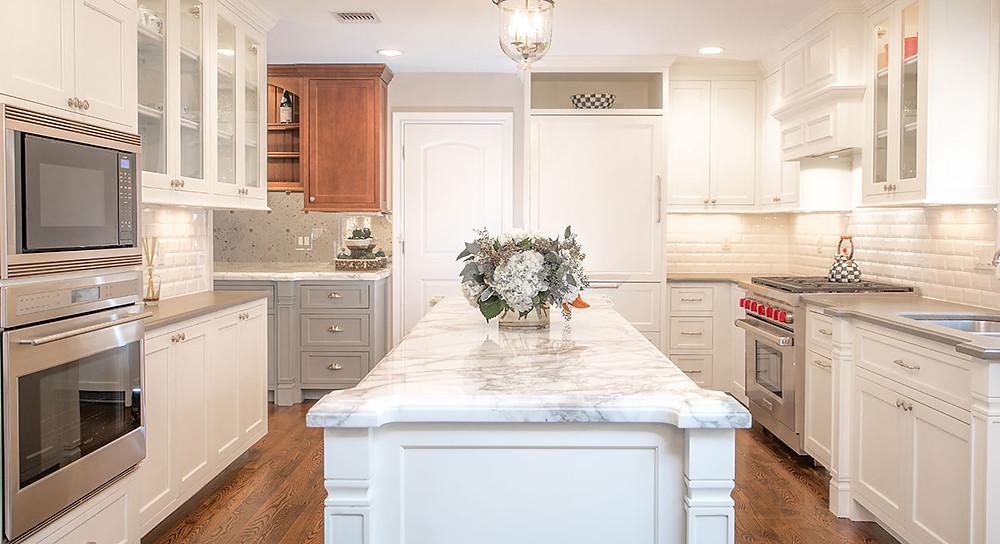 Custom Maple Ridge Cabinetry Kitchen