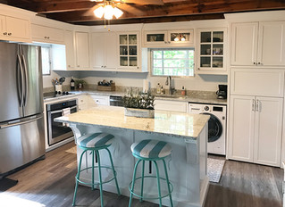 Before & After: Lake cottage gets an Update!