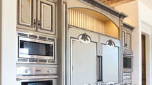 Refrigeration and Appliance Wall in California Home