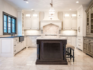 Lovely Multi-Finish Kitchen