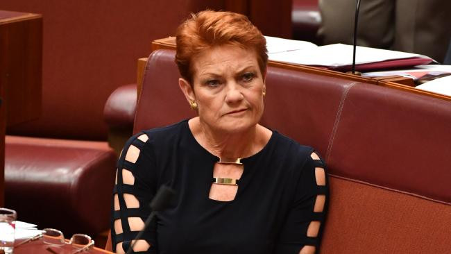 This image is claimed as fair dealing under Australian copyright law. It's clearly relevant to the blog. Pauline Hanson founder of One Nation Party of Australia