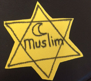 This image is claimed at fair dealing under Australian copyright law. I was surprised to find it. I thought I was the only one who had this feeling. Being an everyday muslim is becoming more like what the everyday jews went through with the rise of fascism last century.
