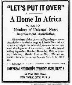 This image is claimed as fair dealing under Australian copyright law. It's a news clipping advising departure dates to Africa and application submissions by interested parties.
