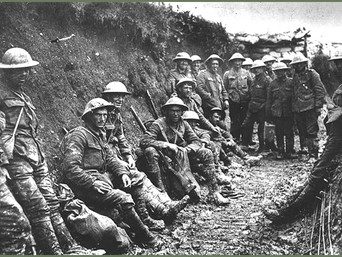 Repeat Performance: how WW1 started is much like what's happening in the world today