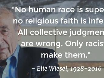 Rest in Peace Mr Wiesel