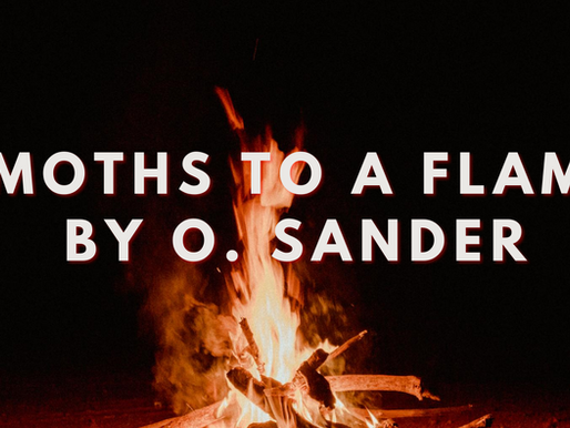 """Moths to a Flame"" by O. Sander"