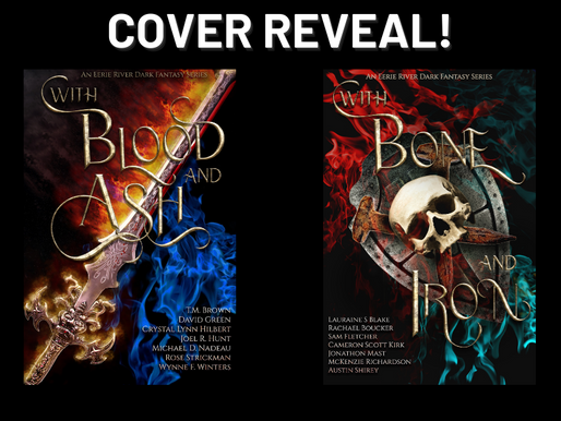 Cover Reveal for our Dark Fantasy Series!