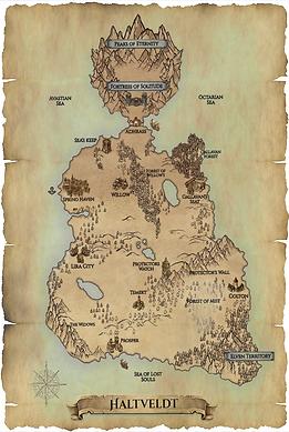 Map of Haltveldt
