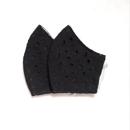 Mascara em Laise Preta - 3 camadas