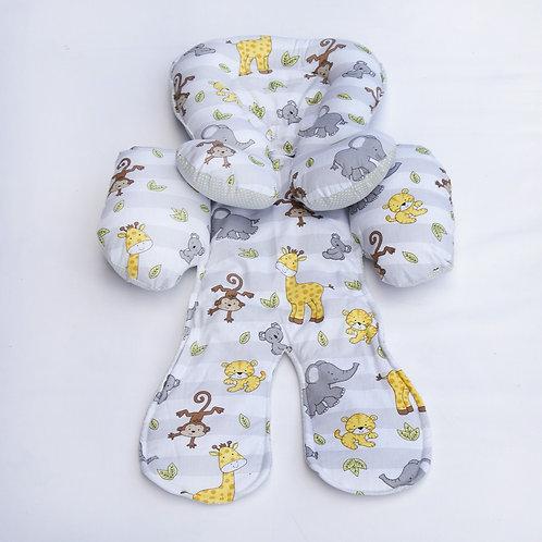 Redutor de Bebê Conforto Safari Cinza