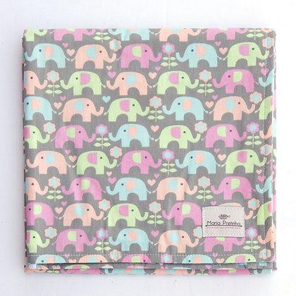 Manta Elefantes Coloridos