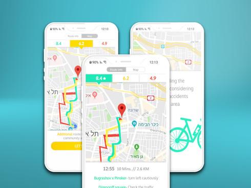 SafeTrip - Route planning app