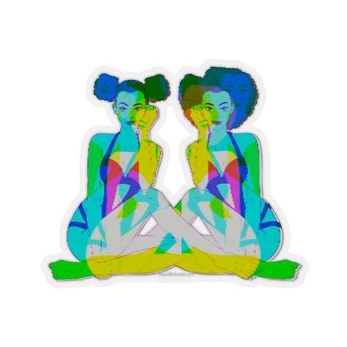 Chaos Twins Sticker