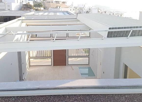 Rolling Roof Plus 300 cm x 300 cm