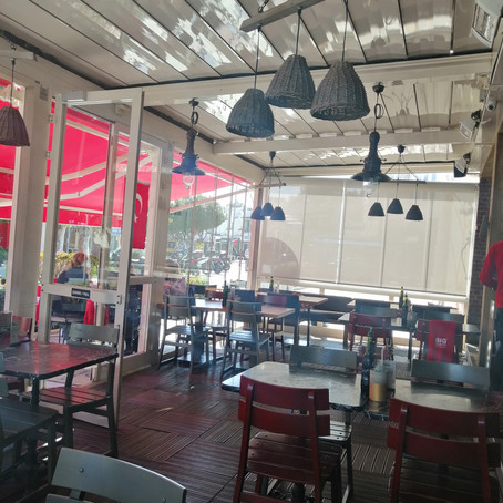 Rolling Roof - Big Chefs Bodrum Marina