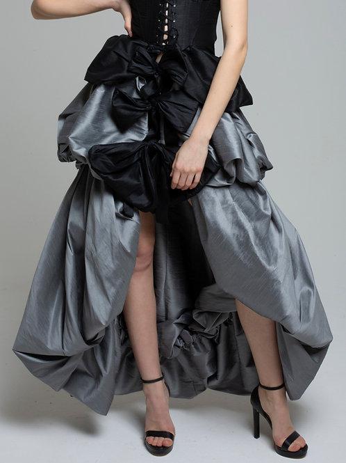 Silver blue skirt