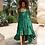 Thumbnail: Green silk Doll dress