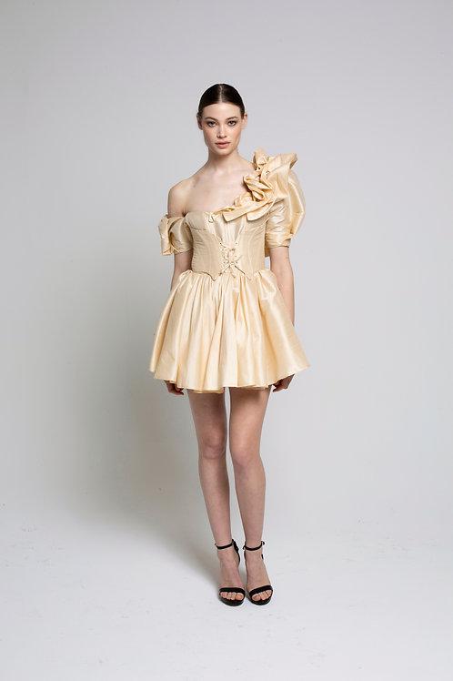Rococo mini dress