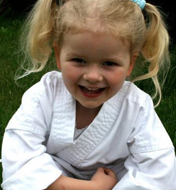 Lessons on the mat from a 4-Year-Old