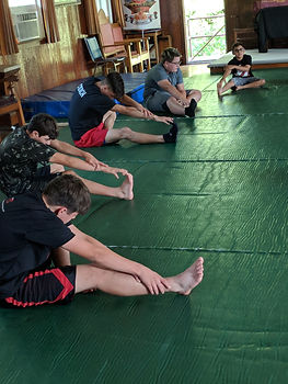Stretch/flexibility class
