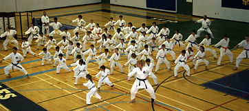 Karate school program