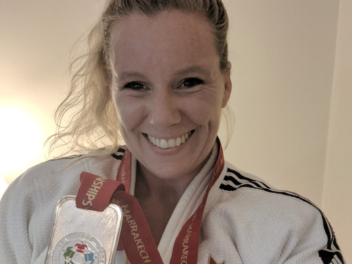 Tri-City Instructor wins Silver Medal at Judo Veteran World's