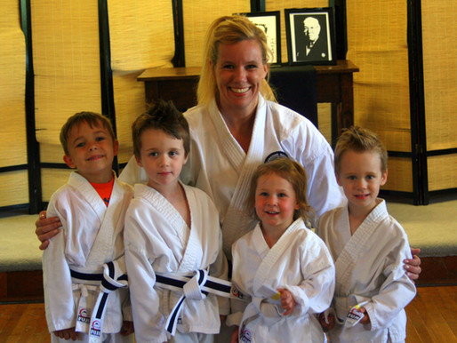 Kinder Karate Promotions