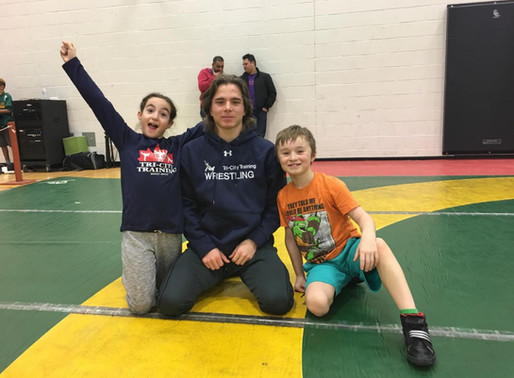 TCT Wrestlers Take it to the Mats
