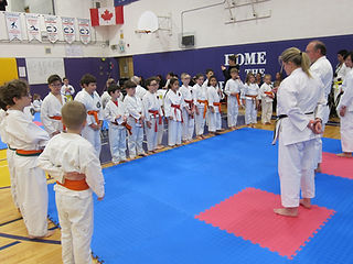 Guelph Open Karate Tournament Competitors