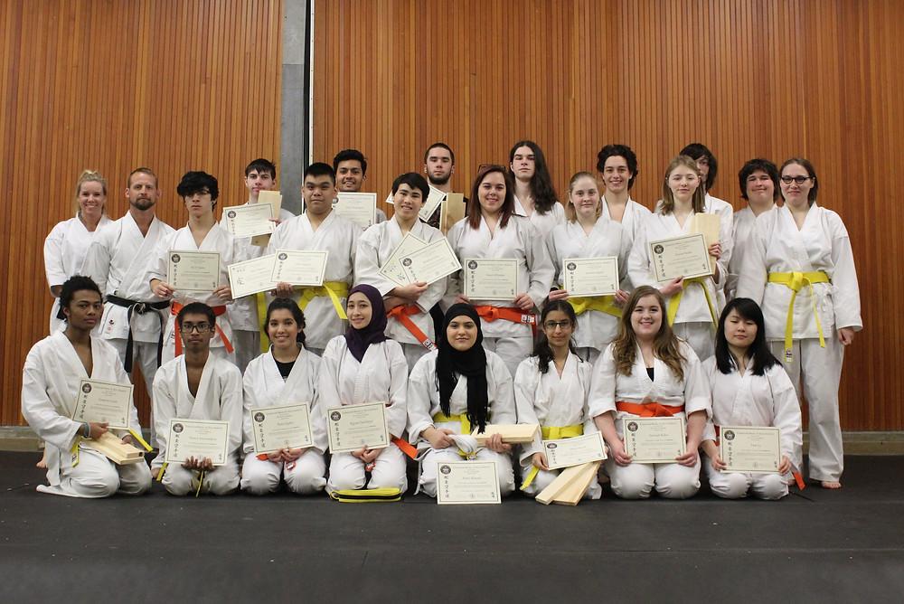 Martial Arts class CCVI karate