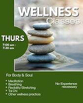 Tri-City Training Wellness Class
